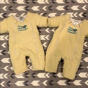 Two pack baby Merlin magic sleep suit